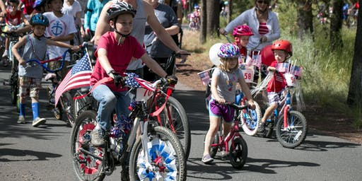 Sunriver Resort 4th of July Bike Parade 2019