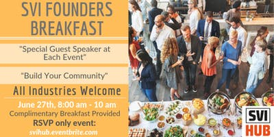 SVI Founders Breakfasts