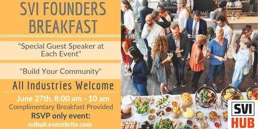 SVI Founders Breakfasts