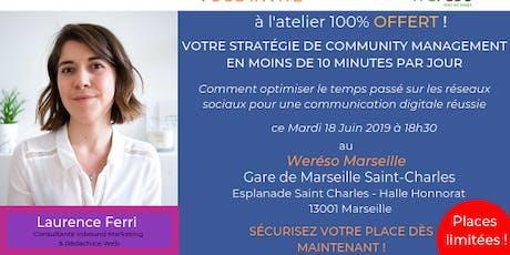 Votre Stratégie De Community Management En Moins De 10 Minutes Par Jour billets