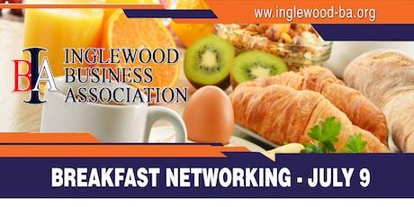 Inglewood Business Association July Networking Breakfast tickets