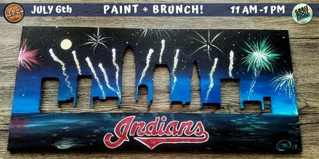 Cleveland Indians Skyline Paint + Brunch! [Two Bucks] tickets