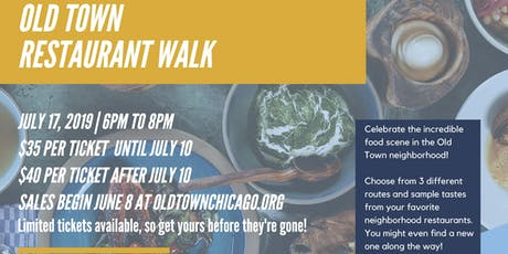 First Ever Old Town Restaurant Walk tickets