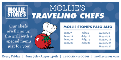 Annual Traveling Chefs BBQ at Mollie Stone's Markets Palo Alto