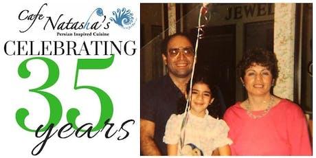 35 Years of Cafe Natasha Love: An Anniversary Celebration tickets