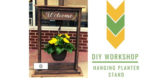 (FULL) DIY Hanging Planter Stand