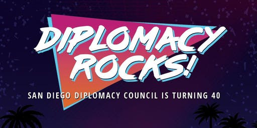 Rocking Out to 40 Years of Diplomacy !