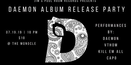 Daemon Album Release Party tickets