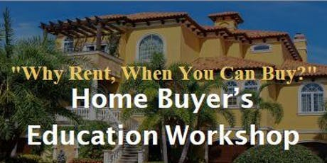 FREE Home Buyer's Education Workshop tickets