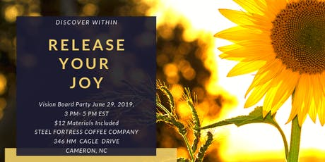Release Your Joy Vision Board Party tickets