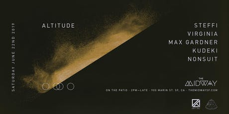 Altitude: Steffi, Virginia, Max Gardner, Kudeki + Nonsuit tickets