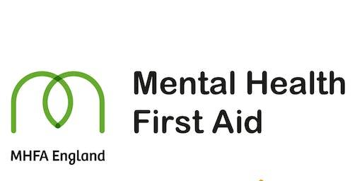 Mental Health First Aid  2 Day Workshop