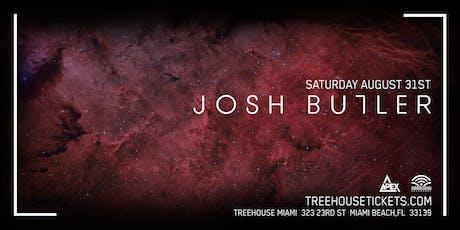 Josh Butler @ Treehouse Miami tickets