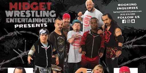 The midget Wrestling Show @ Rivals Sports Bar