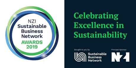NZI Sustainable Business Network Awards 2019 tickets