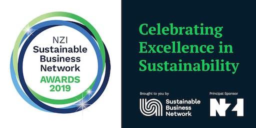 NZI Sustainable Business Network Awards 2019