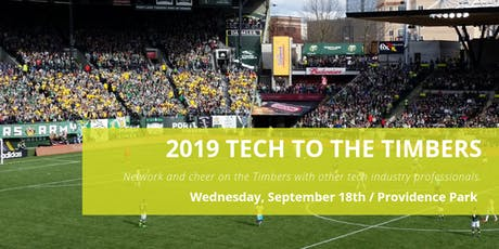 2019 Tech to the Timbers tickets