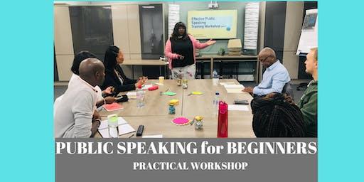 Public Speaking Success for Beginners