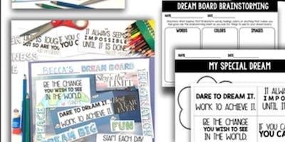 Dream Board Workshop for Kids(ages 4-12)