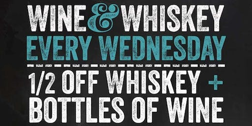 Wine & Whiskey Wednesday ft. Pendleton Whiskey @ Blackfinn