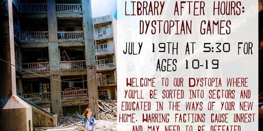 Library After Hours: The Dystopian Games