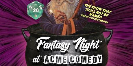 Fantasy Improv Hour tickets