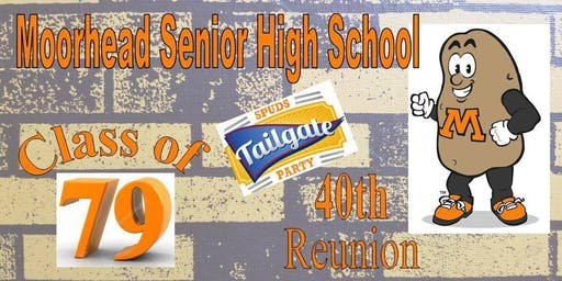 "Class of '79 40th Reunion ""Tailgate"" Party!"