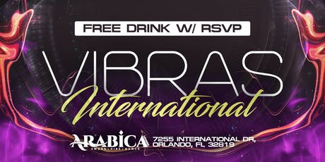 Vibras International - EVERY FRIDAY  tickets