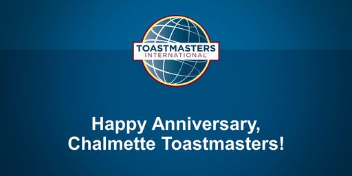 Chalmette Toastmasters Charter Anniversary Party and Open House