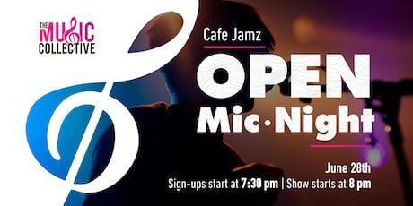 Cafe Jamz: Open Mic Night tickets