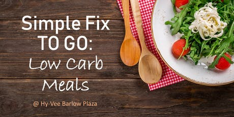 Simple Fix TO GO: Low Carb Meals tickets