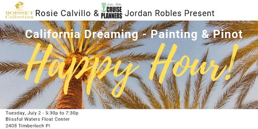 Painting & Pinot Happy Hour!