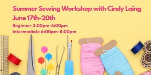 Beginning Summer Sewing Workshop