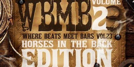 TNL presents...Where Beats Meet Bars Vol.23: Horse tickets