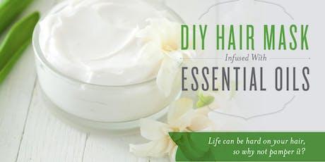 DIY Hair Mask Make-and-Take + Wellness Workshop tickets