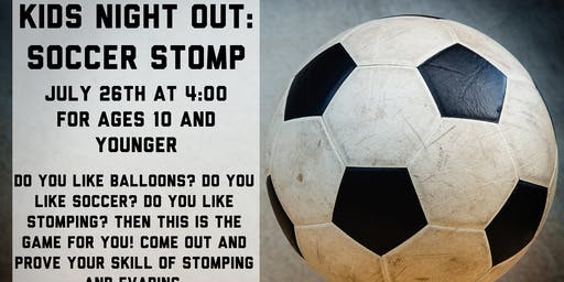 Kids Night Out: Soccer Stomp
