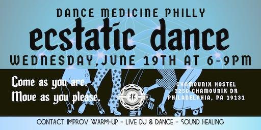 Dance Medicine Philly: Ecstatic Dance June 19th