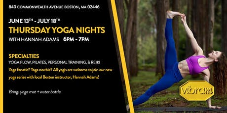Thursday Yoga Nights tickets