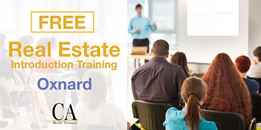 Real Estate Career Event & Free Intro Session - Oxnard