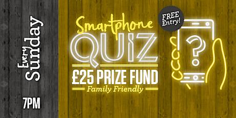 Smartphone Quiz (Family Friendly) tickets
