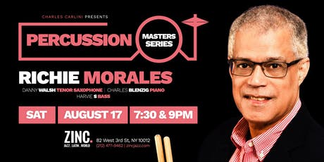 Percussion Masters Series: Richie Morales tickets