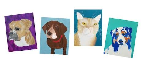 Paint Your Pet   $40 tickets