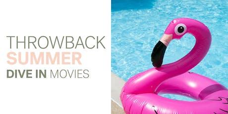 Throwback Summer Dive In Movies  |  Hotel Preston  |   Top Gun tickets