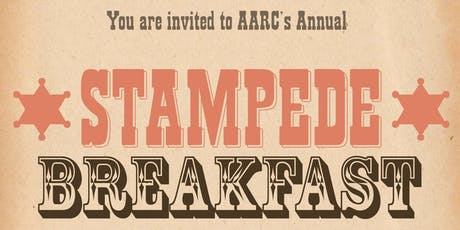 AARC's 2019 Stampede Breakfast tickets