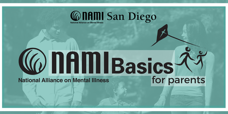 NAMI Basics for Parents & Caregivers NORTH COUNTY SD - Sept 2019 Sat class tickets