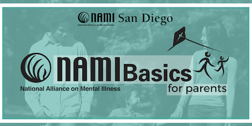 NAMI Basics for Parents & Caregivers NORTH COUNTY SD - Sept 2019 Sat class