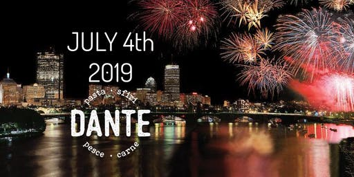 July 4th at Restaurant Dante on the Charles