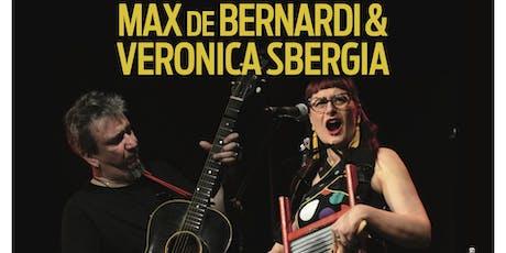 Max De Bernardi & Veronica Sbergia/Toby Barelli/ Joel White - live tickets