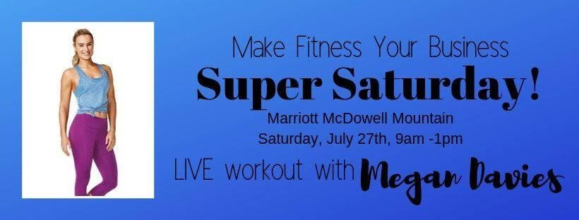 Make Fitness Your Business -LIVE workout