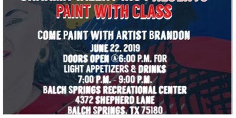 Paint With Class tickets